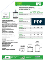 TPX Data Sheet - esp.pdf