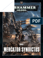 Warhammer 40k Codex Mercator Syndictus ( AKA Codex Squats ) 8th