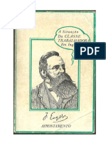 Engels - A Situação Da Classe Operária Em Inglaterra (Afrontamento)