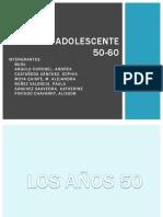 Cultura Adolescente Decada de Los 50