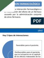 2.-Interacciones medicamentosas