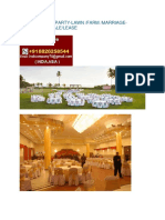 Banquet-hall Party-lawn Farm -Marriage-garden for Sale -Lease in India