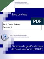 Bd 02 Sistemas de Gestion de Base de Datos Relacional
