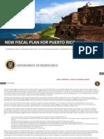 Borrador Del Plan Fiscal Puerto Rico Marzo 2018