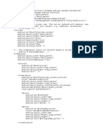 Fullscreen Activity XML