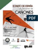 Dossier Campeonato España Cañones 2018 _ Jerte