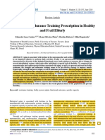 Aging and Disease-Jun2014-Strength and Endurance Training Prescription in Healthy and Frail Elderly