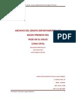 Psoe en El Exilio Grupo Departamental de Bajos Pirineos