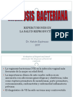 VAGINOSIS BACTERIANA 2017