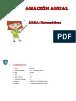 Programacion anual 2018 3°B