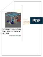 Electric Vehicles in India and Its Impact on Grid