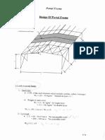 01 Design of Portal Frame
