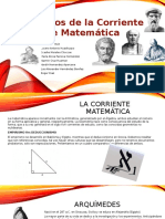 Filósofos de La Corriente de Matemática