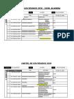 Cartel de Contenidos 2018 Algebra 1ero Sec