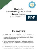 CHEG587 Polymer Nanocomposites. Summer 2