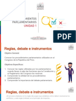 Modulo II - Curso 2 - Unidad 1 - Procedimientos Parlamentarios