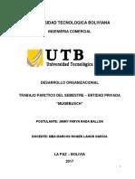 Trabajo Des Organi Lahor 24-03-2018