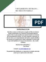 EL COMPORTAMIENTO HUMANO , COMO RECONOCERLO.pdf