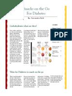 nutritious snacks for diabetic patients article