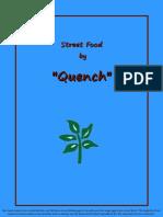Café Quench Street-Food Menu 2018