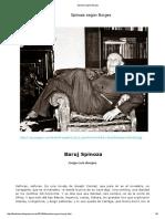 Borges -- Baruj Spinoza