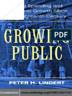 Peter H. Lindert-Growing Public_ Volume 1, The Story_ Social Spending and Economic Growth Since the Eighteenth Century (2004)