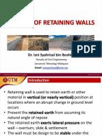 Retaining Wall ACi