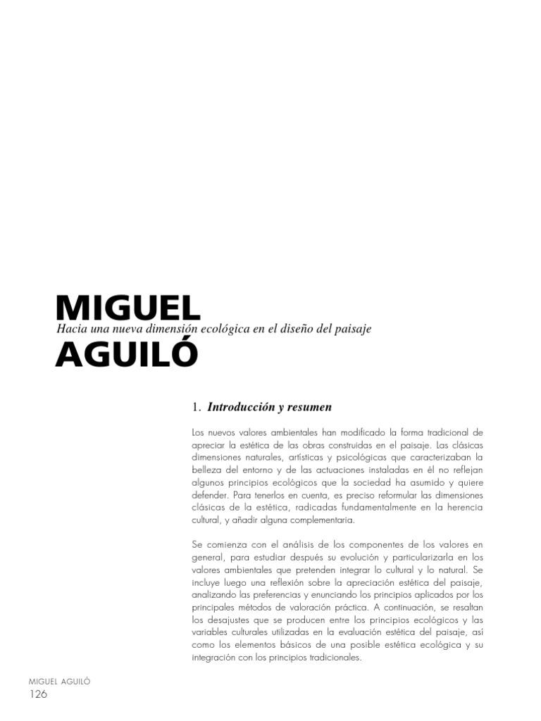 Miguel Aguiló_Hacia una Nueva Dimensión Ecológica en el Diseño del ...