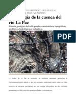 Morfología Cuenca La Paz