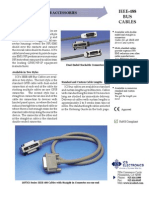 IEEE-488 Cables Ds