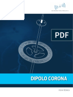 Punta Dipolo Corona (Punta Pararrayos)
