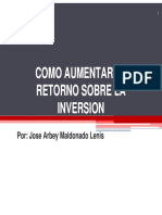 5-COMO AUMENTAR EL RETORNO SOBRE LA INVERSION.pdf