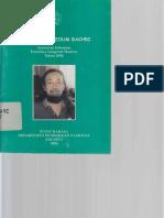 Sutardji Calzoum Bachri 2006 62
