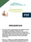 Materi 3 Untuk Pascasarjana UntirtaMengolah Informasi