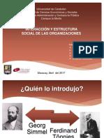 6 Las Organizaciones Sociales, Secc. 51, 1-2017.pptx