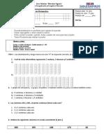 3° evaluación matemática junio