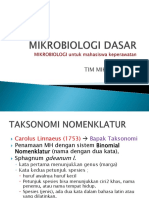 Mikrobiologi Dasar Keperawatan