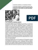 Principios Básicos Del Materialismo Dialéctico y El Materialismo Histórico