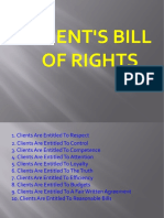 Cagas,Bill of Rights
