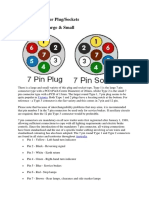 Australian Trailer Plug Wiring Info
