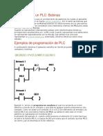 Elementos de un PLC