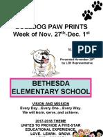staff reminders pp november 29  2