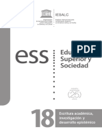 Revista Educación Superior y Sociedad - UNESCO