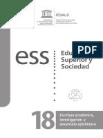 Revista Educación Superior y Sociedad - UNESCO