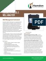 Hamdon Echometer Model E Well Analyzer Brochure