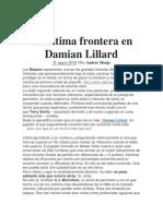 La Última Frontera en Damian Lillard