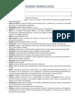 Glosario de Términos Semiología