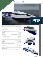Austal Auto Express 102 Data Sheet