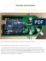 Arduino TTL Pulse Generator and Controller, Optogenetics and Neural Engineering Core