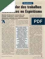 O real valor dos trabalhos mediúnicos no Espiritismo   _ Vitor Ronaldo Costa